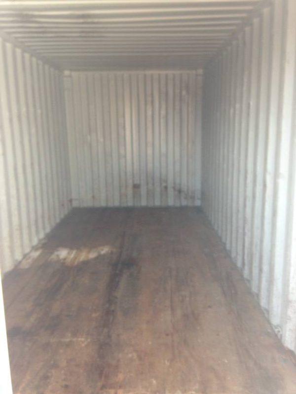 Фото контейнера 20 фут изнутри