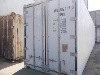 40'RFHC футовый рефконтейнер Carrier 2004 года