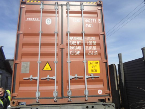 40'HC футовый контейнер как новый 2014 года