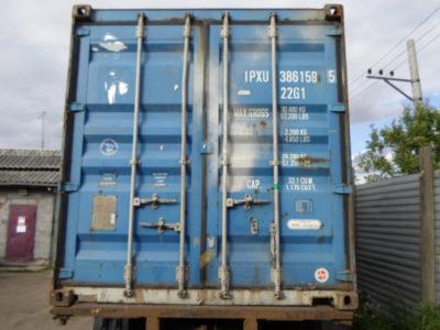 20'DC футовый контейнер IPXU3861595