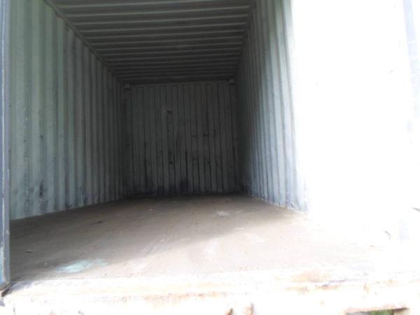 Вид контейнера изнутри