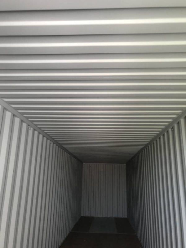 Новый контейнер вид изнутри