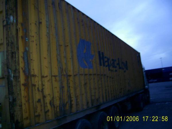 Вид контейнера справа