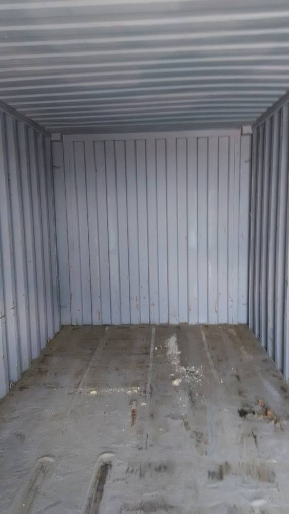 Общий вид внутри контейнера 20 фут