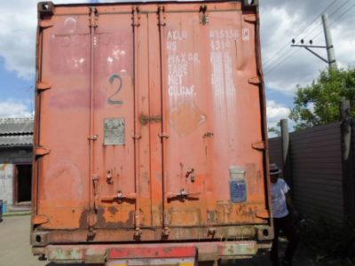 40'DC футовый контейнер под склад ALLU8151565