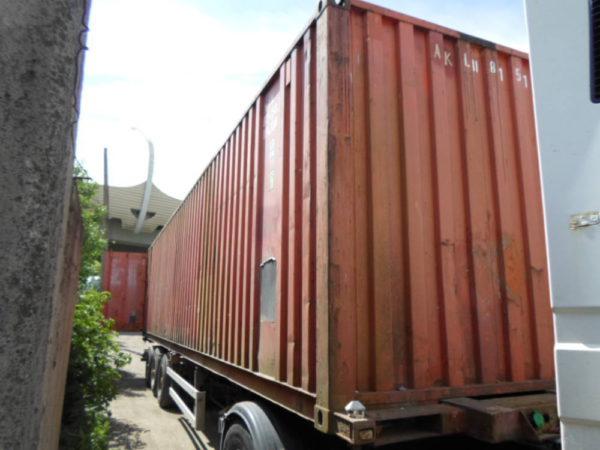 Транспортировка контейнера