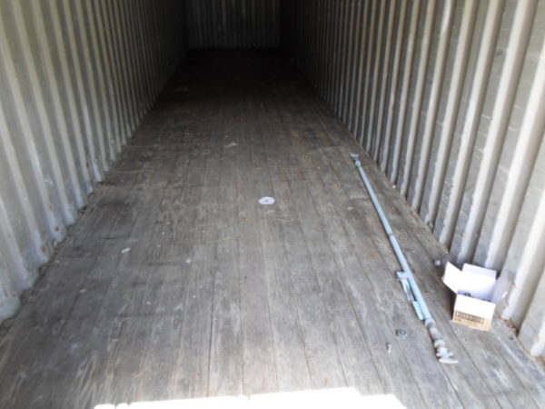 Контейнер под склад 40 фут вид внутри