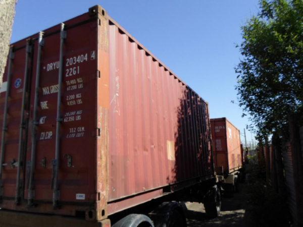 Перевозка контейнеровозом