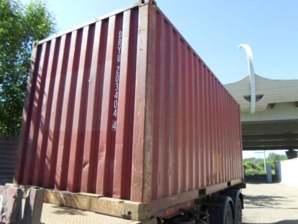 Транспортировка контейнеровозом