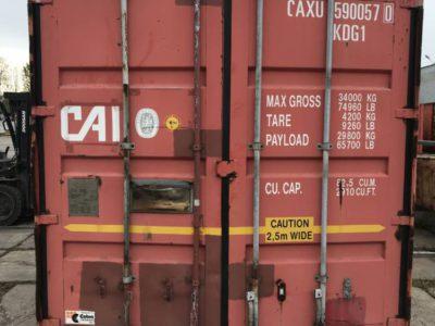 45 футов стандартный широкий контейнер