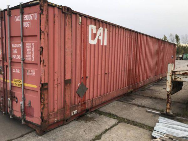 контейнер б/у 45 футов
