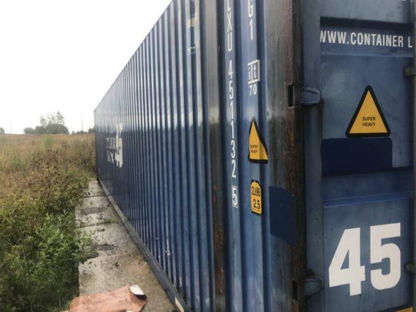45' HCPW купить контейнер