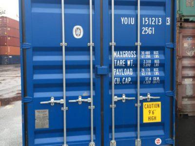 20НС высокий 20 футовый контейнер