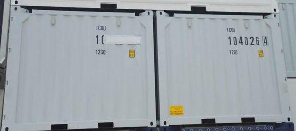 Перевозка 2х10 фут офшорных контейнеров