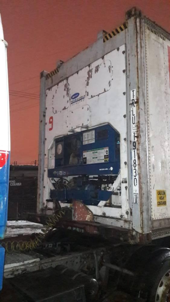 Рефконтейнер с установкой Carrier