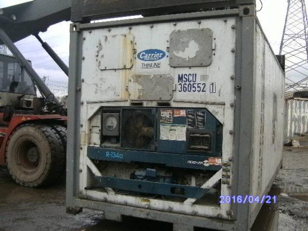 Хранение рефконтейнеров