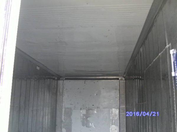 20фут рефконтейнер вид внутри