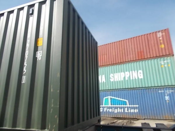 20 фут новый контейнер