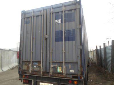 40PW фут широкий стандартный контейнер
